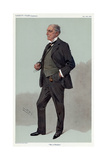 Alfred C Plowden Giclee Print by Leslie Ward