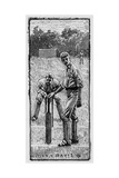 Cricket Asking for Guard Giclee Print by Lucien Davis