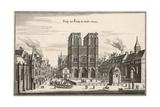Paris, Notre Dame C17 Giclee Print by Merian Merian