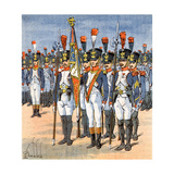Garde de L'Aigle Giclee Print by Louis Charles Bombled