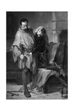 Scene from Shakespeare's King John Giclee Print by M Adamo