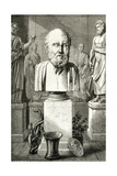 Hippocrates, Louvre Bust Giclee Print by Meyer Heine