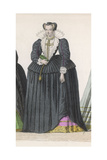 Frenchwoman 1590S Giclee Print by Marie Preval