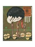 R Strauss (Hohlwein) Premium Giclee Print by Ludwig Hohlwein