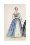 Frenchwoman 1559 Giclee Print by Marie Preval