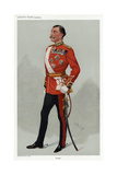 British General Giclee Print by Leslie Ward