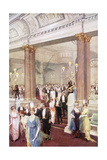 Social, Savoy Banquet 20C Giclee Print by Max Cowper