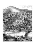 Germany Heidelberg Giclee Print by Mathieu Merian