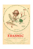 Erasmic Soap Advertisement Giclee Print by Mabel Lucie Attwell