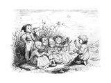 Children's Orchestra Giclee Print by Ludwig Richter