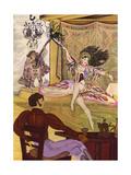 Euchar and Mignon Giclee Print by Mario Laboccetta