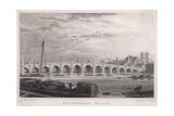 Westminster Bridge 1827 Giclee Print by MJ Starling