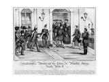 Assassination Attempt on Friedrich Wilhelm IV of Prussia Giclee Print by Neuruppiner Bilderbogen