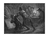 1820, Cato Street Raid Giclee Print by Paul Hardy