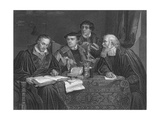 Luther and Colleagues Giclee Print by PA Labouchere