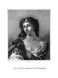 Ann Marchss. Wharton Giclee Print by Peter Lely