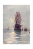 St Vincent Sailing Ship Giclee Print by Maurice Randall