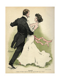 Danish Couple 1902 Giclee Print by Paul Fischer