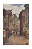 Rouen, Old Houses 1905 Giclee Print by Nico Jungman