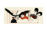 Women with Feathered Hats 1913 Giclee Print by Paul Meras