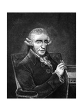 Joseph Haydn Premium Giclee Print by R Bong