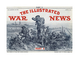 Illustrated War News Front Cover, Attacking Infantrymen Giclee Print by Richard Caton Woodville