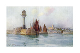 Penzance, Cornwall 1908 Giclee Print by Maurice Randall