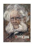 Henrik Ibsen Giclee Print by Nico Jungman