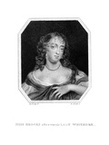 Frances Lady Whitmore 2 Giclee Print by Peter Lely