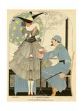 WW1 Cartoon, Bombe 1916 Premium Giclee Print by Paul Allier