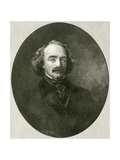 Nathaniel Hawthorne, Oval Giclee Print by RG Tietze