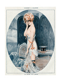 Woman in Slip 1918 Giclee Print by Maurice Milliere