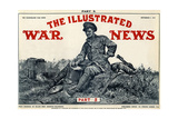 Illustrated War News Front Cover, Soldier Writing Letter Giclee Print by Richard Caton Woodville