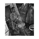 Conrad, Typhoon, Helm Giclee Print by Maurice Greiffenhagen
