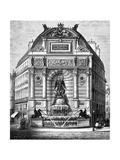 Paris, France - Fontaine Saint-Michel Giclee Print