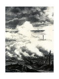 WW1 - Allies Use Gas, October 1915 Giclee Print by Ralph Cleaver