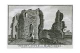 Odiham Castle Giclee Print