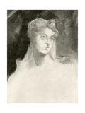 Augusta Leigh Giclee Print by Sir George Hayter