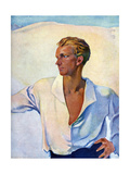 The Aryan Ideal Male Giclee Print by Paul Rieth