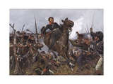 Battle of Leipzig 1813 Premium Giclee Print by R Knoetel