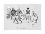 Street Music: a Gutter-Ball 1896 Giclee Print by Phil May