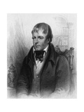 Sir Walter Scott Premium Giclee Print by Sir J Watson Gordon