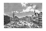 Germany Frankfurt Main Giclee Print by Salomon Kleiner