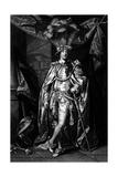 Charles Earl Bellamont Giclee Print by Sir Joshua Reynolds