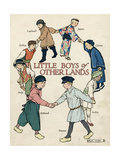Little Boys of Other Lands in their Native Costumes Giclee Print by Ruth Cobb