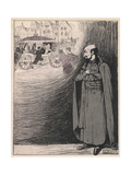Loyola Caricatured Giclee Print by Paul Poncet