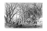 Native U.S. Sugar Camp Giclee Print by S. Eastman