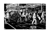 Krupp: Smelting Plant Giclee Print by Robert Engels