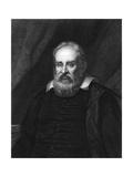 Galileo Galilei, Italian Astronomer Giclee Print by Robert Hart