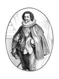 Charles Duc de Luynes Premium Giclee Print by Robert Fleury